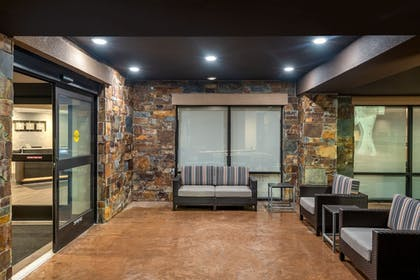 Terrace/Patio | TownePlace Suites by Marriott Whitefish