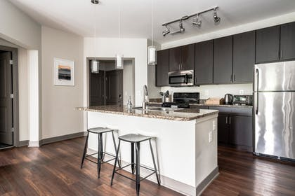 In-Room Kitchen | Mint House Downtown Indianapolis