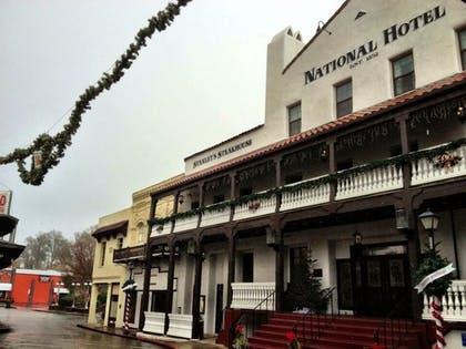 Hotel Front | The National Hotel Jackson