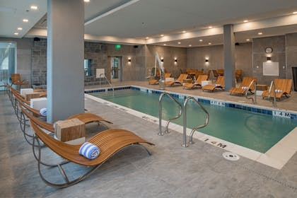 Indoor Pool | Element Dallas Downtown East