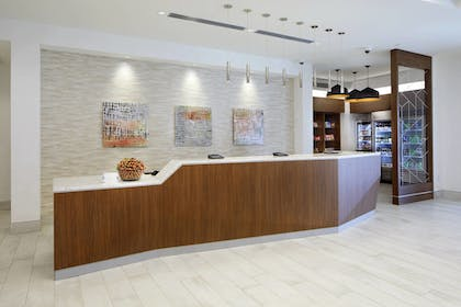 Lobby | SpringHill Suites by Marriott Columbus Easton Area