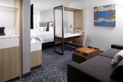 Guestroom | SpringHill Suites by Marriott Columbus Easton Area