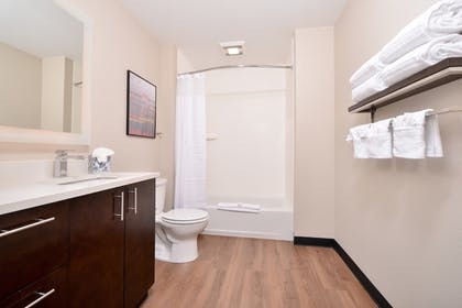 Bathroom | TownePlace Suites by Marriott Ontario Chino Hills