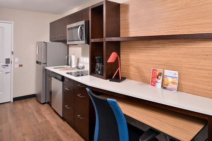 In-Room Kitchen | TownePlace Suites by Marriott Ontario Chino Hills
