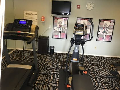 Fitness Facility | AE Hotels Andrews Inn and Suites