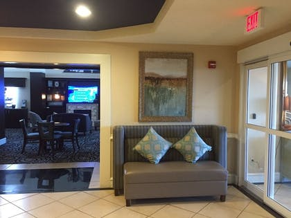 Interior Entrance | AE Hotels Andrews Inn and Suites
