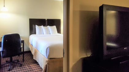 Guestroom | MainStay Suites Rogers near I-49