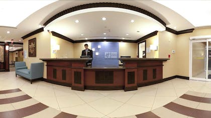 Reception   Holiday Inn Express Hotel & Suites Mobile/Saraland