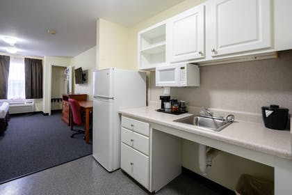 In-Room Kitchenette | Cottonwood Suites Westminster
