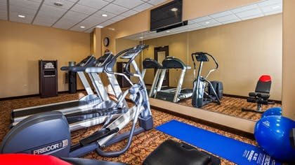 Fitness Facility | Best Western Plus Cimarron Hotel & Suites
