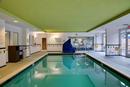 Indoor Pool | Fairfield Inn & Suites Lake City