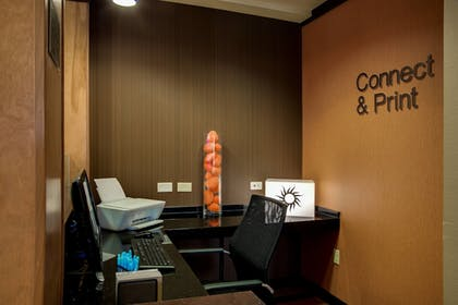 Business Center | Fairfield Inn & Suites Lake City
