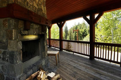 Terrace/Patio | Tamarack Resort