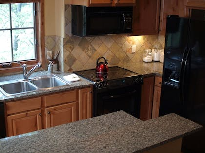 In-Room Kitchen | Tamarack Resort