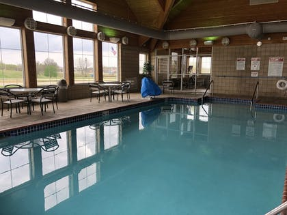 Indoor Pool | AmericInn by Wyndham Princeton IL