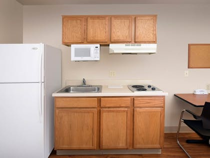 In-Room Kitchen | WoodSpring Suites Wilmington