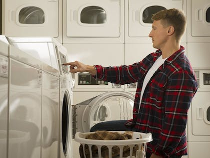 Laundry Room | WoodSpring Suites Tyler