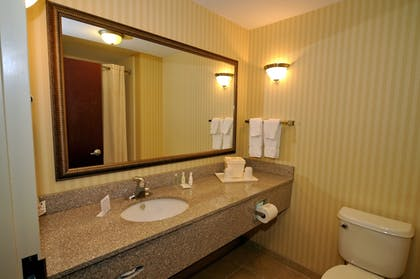 Bathroom | Comfort Suites Mahwah - Ramsey