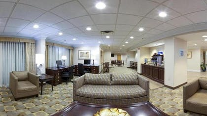 Lobby Sitting Area | Holiday Inn Express Wilkes Barre East