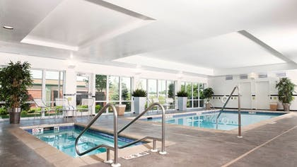 Pool | Fairfield Inn & Suites by Marriott Des Moines Airport