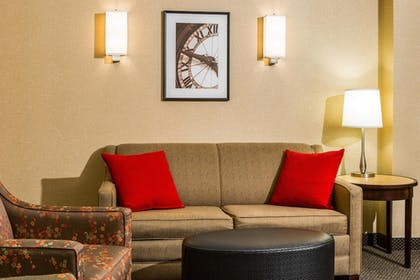 Living Room | Cambria Hotel Raleigh-Durham Airport