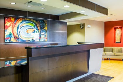 Lobby | Cambria Hotel Raleigh-Durham Airport