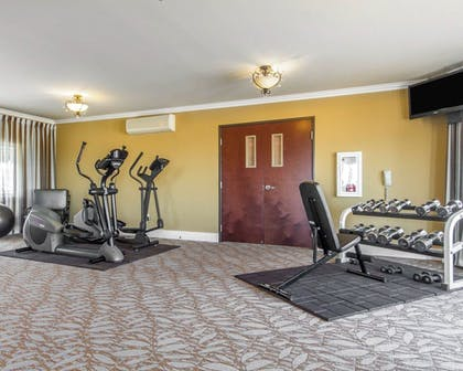 Fitness Facility |  | Villa Montes Hotel, an Ascend Hotel Collection Member
