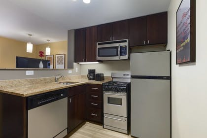 In-Room Kitchen | TownePlace Suites by Marriott Joliet South