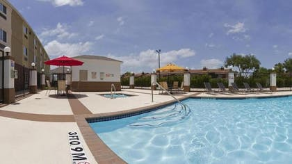 Outdoor Pool | Candlewood Suites Houston Westchase/ Westheimer.
