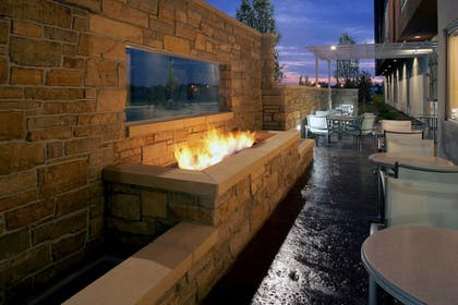 Terrace/Patio | SpringHill Suites by Marriott Chicago Waukegan/Gurnee