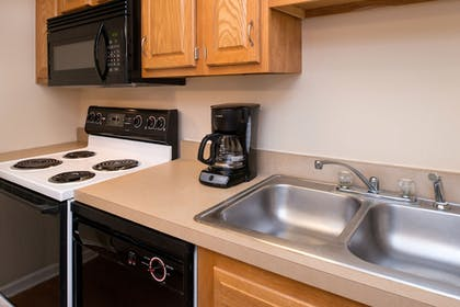 In-Room Kitchen | Charwood Suites