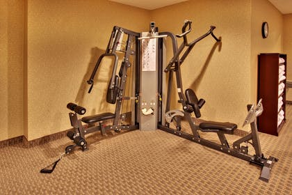 Fitness Facility | Holiday Inn Express Hotel & Suites Council Bluffs - Conv Ctr