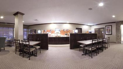 Breakfast Area | Holiday Inn Express Hotel & Suites Council Bluffs - Conv Ctr