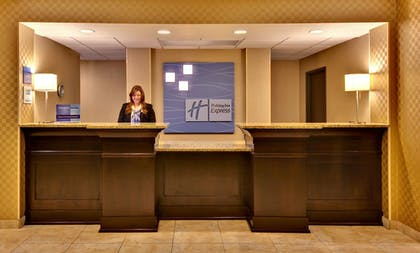 Lobby | Holiday Inn Express Hotel & Suites Council Bluffs - Conv Ctr