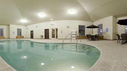Indoor Pool | Holiday Inn Express Hotel & Suites Council Bluffs - Conv Ctr
