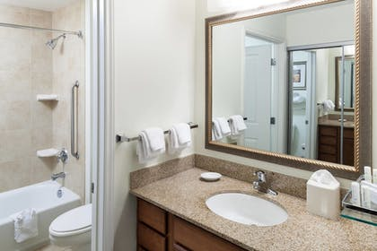 Bathroom | Residence Inn by Marriott Beaumont