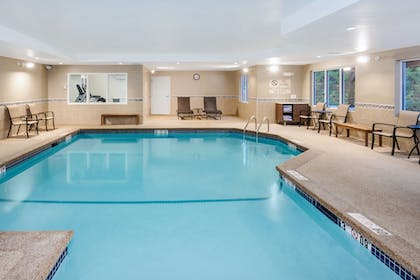 Indoor Pool | Holiday Inn Express Hotel & Suites Tilton - Lakes Region