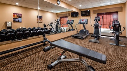 Fitness Facility | Best Western Plus Victor Inn & Suites