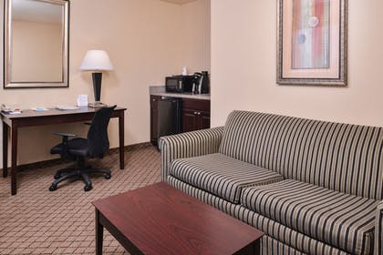 In-Room Amenity | Holiday Inn Express & Suites San Antonio NW - Medical Area