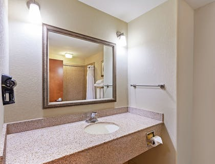 Bathroom Sink | Holiday Inn Express Hotel & Suites Lafayette South