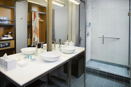 Bathroom | Aloft Charlotte Uptown at the EpiCentre