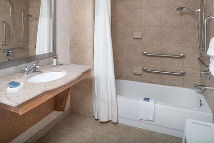 Bathroom | Wingate By Wyndham Spokane