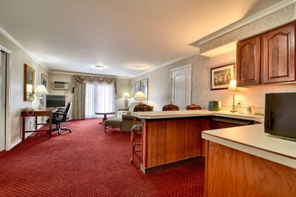 In-Room Kitchenette | Roosevelt Inn and Suites Saratoga Springs