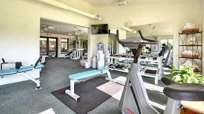 Gym | Roosevelt Inn and Suites Saratoga Springs