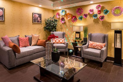 Lobby Sitting Area | Inn of the Dove Romantic Luxury & Business Suites