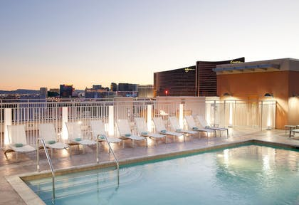 Outdoor Pool | SpringHill Suites by Marriott Las Vegas Convention Center