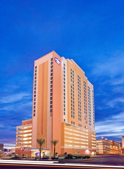 Hotel Front | SpringHill Suites by Marriott Las Vegas Convention Center