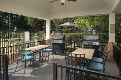 BBQ/Picnic Area   Candlewood Suites Bluffton-Hilton Head