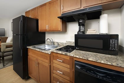 In-Room Kitchen   Candlewood Suites Bluffton-Hilton Head