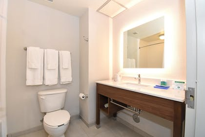 Bathroom | Holiday Inn Express Hotel & Suites Southern Pines